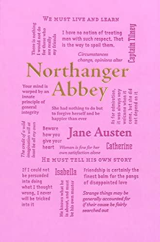 9781626869745: Northanger Abbey (Word Cloud Classics)