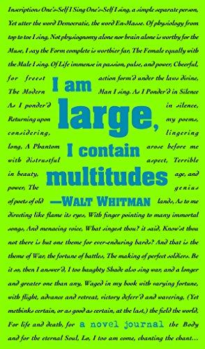 A Novel Journal: Leaves of Grass (Compact): Whitman, Walt
