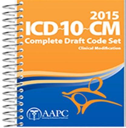 9781626881662: 2015 ICD-10-CM Draft Code Book