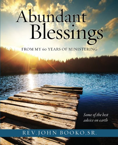 Abundant Blessings from My 60 Years of: Booko, Sr. Rev