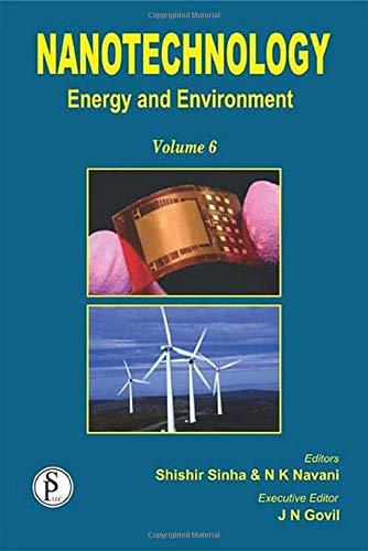 Nanotechnology: Energy and Environment (Volume 6): JN Govil, Naveen