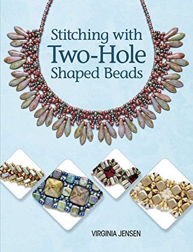 9781627001526: Stitching with Two-Hole Shaped Beads