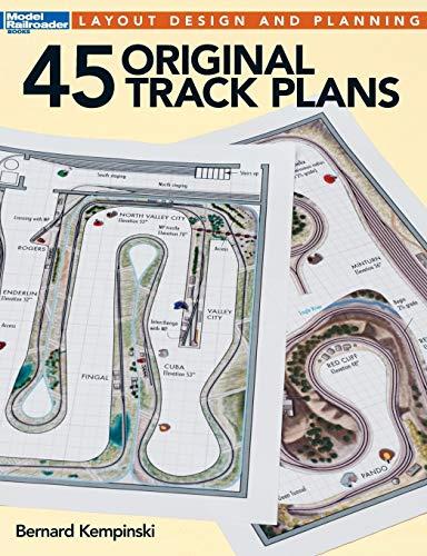 9781627002158: 45 Original Track Plans (Model Railroader)