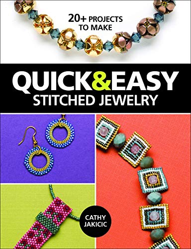 9781627002318: Quick & Easy Stitched Jewelry: 20+ Projects to Make