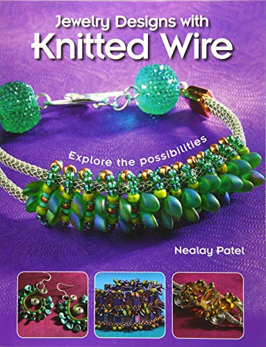 Jewelry Designs with Knitted Wire Format: Paperback