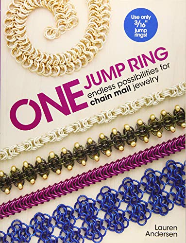 9781627003032: One Jump Ring: Endless Possiblilities for Chain Mail Jewelry