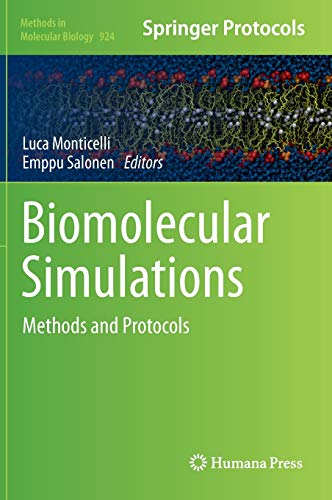 9781627030168: Biomolecular Simulations: Methods and Protocols (Methods in Molecular Biology)