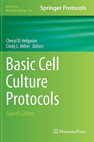9781627031271: Basic Cell Culture Protocols (Methods in Molecular Biology)