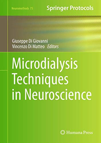 9781627031721: Microdialysis Techniques in Neuroscience (Neuromethods)