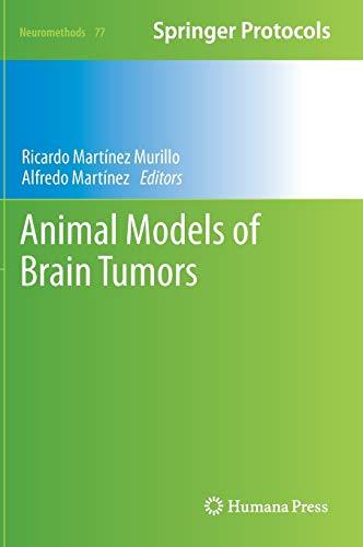 Animal Models of Brain Tumors.: Martinez-Murillo, Ricardo , and Alfredo Martinez, Eds.