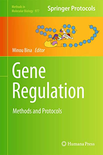9781627032834: Gene Regulation: Methods and Protocols (Methods in Molecular Biology)
