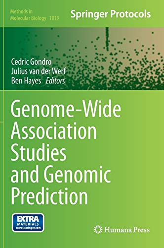9781627034463: Genome-Wide Association Studies and Genomic Prediction (Methods in Molecular Biology)