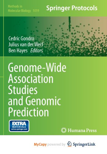 9781627034487: Genome-Wide Association Studies and Genomic Prediction