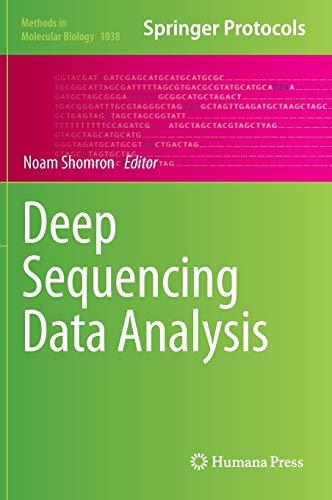 9781627035132: Deep Sequencing Data Analysis (Methods in Molecular Biology)