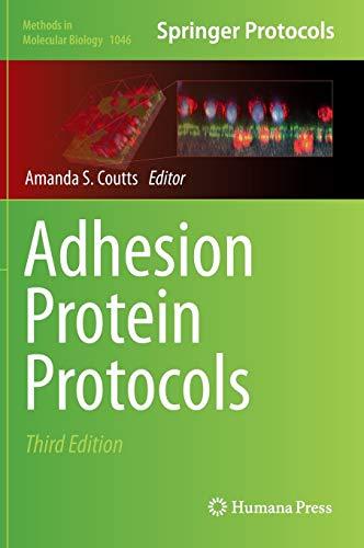 Adhesion Protein Protocols (Methods in Molecular Biology): Humana Press
