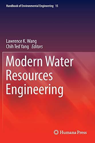 9781627035941: Modern Water Resources Engineering (Handbook of Environmental Engineering)