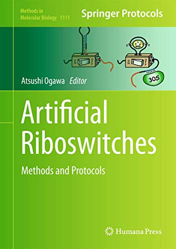 9781627037549: Artificial Riboswitches: Methods and Protocols