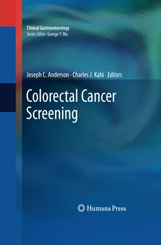 9781627038775: Colorectal Cancer Screening (Clinical Gastroenterology)