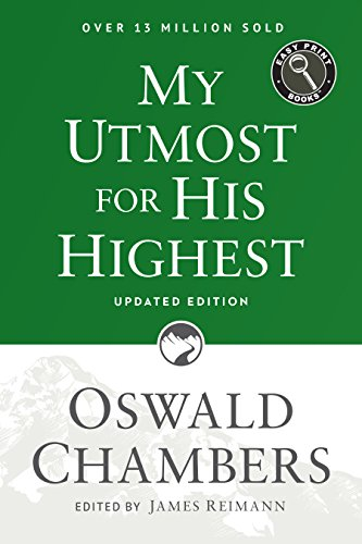 9781627078795: My Utmost for His Highest: Updated Language Easy Print Edition