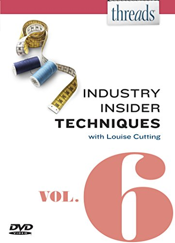 Threads Industry Insider Techniques, Vol. 6: Louise Cutting