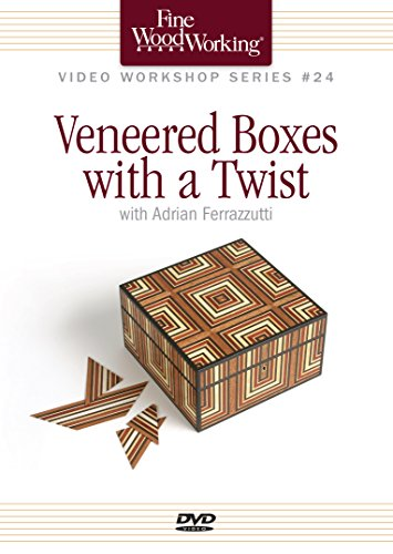 9781627109543: Fine Woodworking Video Workshop Series - Veneered Boxes with a Twist