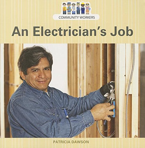 9781627129947: An Electrician's Job (Community Workers)