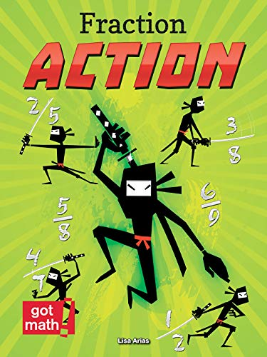 Fraction Action: Fractions Are Numbers Too (Hardcover): Lisa Arias