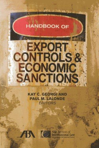 9781627220507: Handbook of Export Controls and Economic Sanctions