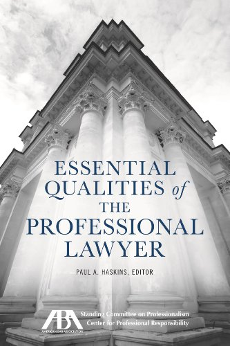9781627220521: Essential Qualities of the Professional Lawyer