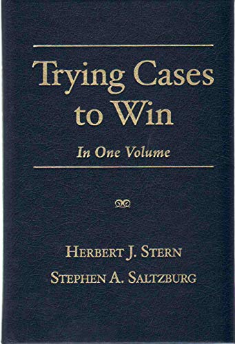 9781627222785: Trying Cases to Win: In One Volume