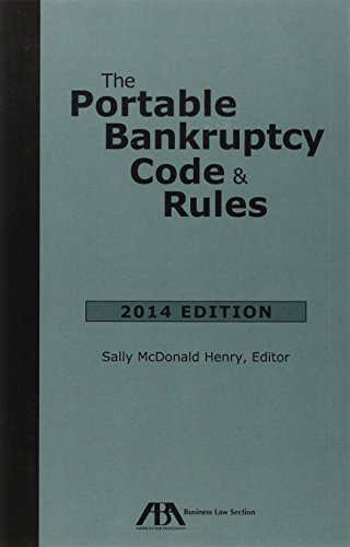 9781627225113: The Portable Bankruptcy Code & Rules