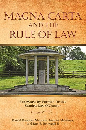 MAGNA CARTA AND THE RULE OF LAW: Magraw, Daniel Barstow;