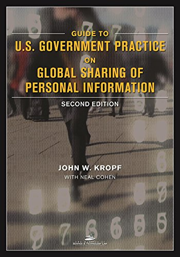 9781627229647: Guide to U.S. Government Practice on Global Sharing of Personal Information