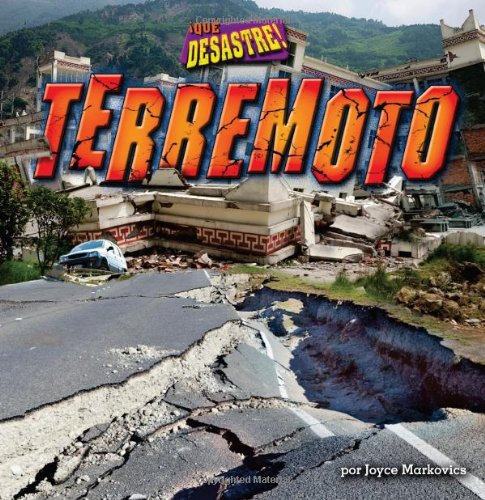 Terremoto = Earthquake (Library Binding): Joyce L. Markovics