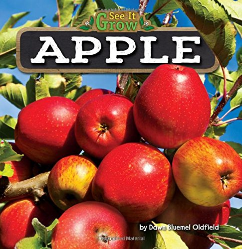 Apple 9781627248396 A tall tree with bright red apples grows in a backyard. It was once a tiny seed. So how did the apple tree get so big? Beginning readers