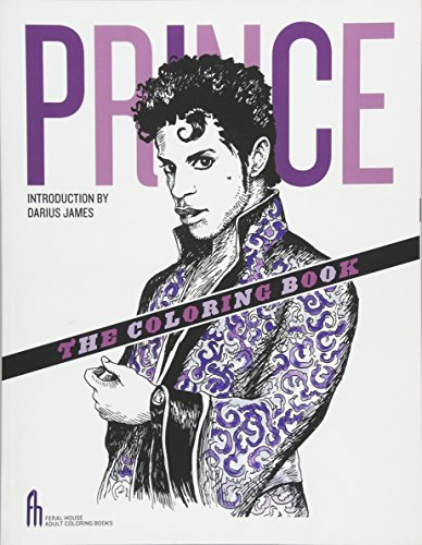 9781627310468: Prince: The Coloring Book (Feral House Coloring Books for Adults)