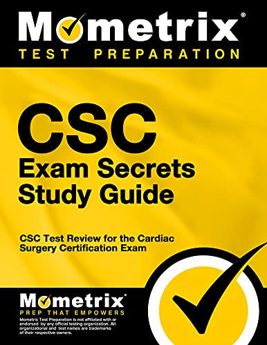9781627330442: CSC Exam Secrets Study Guide: CSC Test Review for the Cardiac Surgery Certification Exam (Mometrix Secrets Study Guides)