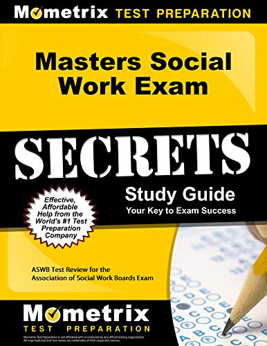 9781627331128: Masters Social Work Exam Secrets Study Guide: ASWB Test Review for the Association of Social Work Boards Exam
