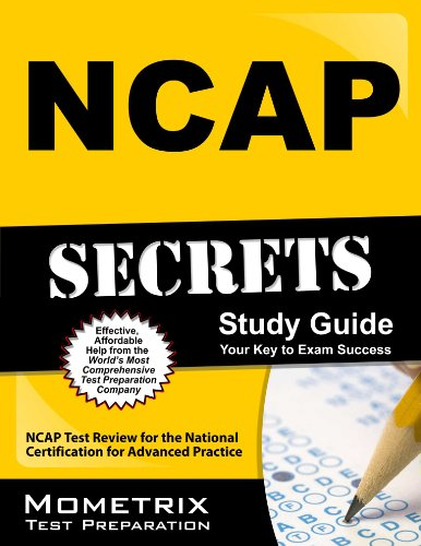 9781627331197: NCAP Secrets, Study Guide: NCAP Test Review for the National Certification for Advanced Practice