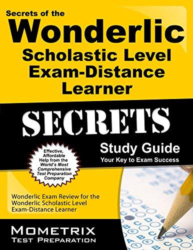 9781627331692: Secrets of the Wonderlic Scholastic Level Exam - Distance Learner Study Guide: Wonderlic Exam Review for the Wonderlic Scholastic Level Exam - Distance Learner (Mometrix Secrets Study Guides)