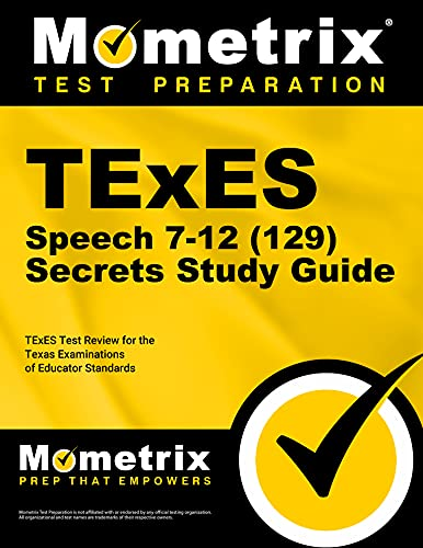 9781627331746: TExES Speech 7-12 (129) Secrets Study Guide: TExES Test Review for the Texas Examinations of Educator Standards