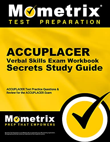 9781627336963: ACCUPLACER Verbal Skills Exam Secrets Workbook: ACCUPLACER Test Practice Questions & Review for the ACCUPLACER Exam (Secrets (Mometrix))
