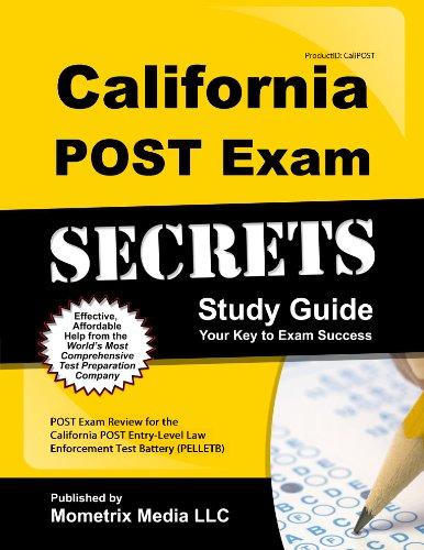 9781627337069: California POST Exam Secrets Study Guide: POST Exam Review for the California POST Entry-Level Law Enforcement Test Battery (PELLETB) (Mometrix Secrets Study Guides)