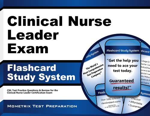 9781627337120: Clinical Nurse Leader Exam Flashcard Study System: CNL Test Practice Questions & Review for the Clinical Nurse Leader Certification Exam (Cards)
