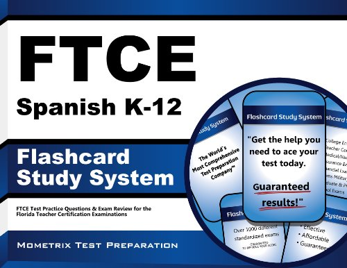 9781627337236: FTCE Spanish K-12 Flashcard Study System: FTCE Test Practice Questions & Exam Review for the Florida Teacher Certification Examinations (Cards)