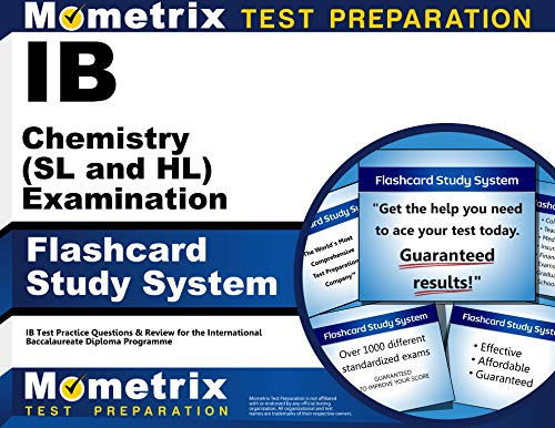 9781627337472: IB Chemistry (SL and HL) Examination Flashcard Study System: IB Test Practice Questions & Review for the International Baccalaureate Diploma Programme (Cards)