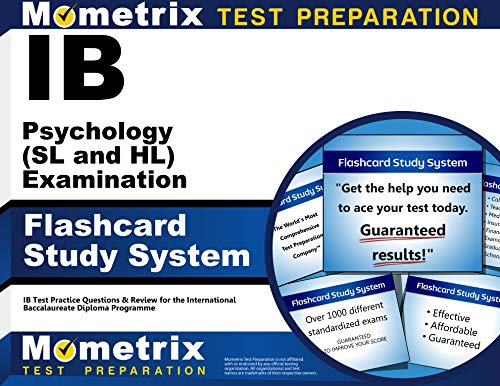 Ib Psychology (SL and Hl) Examination Flashcard Study System: Ib Test Practice Questions and Review...