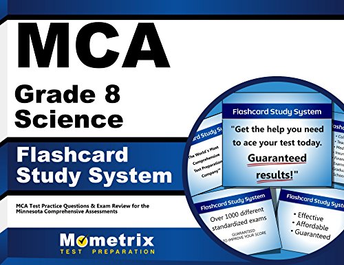 9781627337854: MCA Grade 8 Science Flashcard Study System: MCA Test Practice Questions & Exam Review for the Minnesota Comprehensive Assessments (Cards)