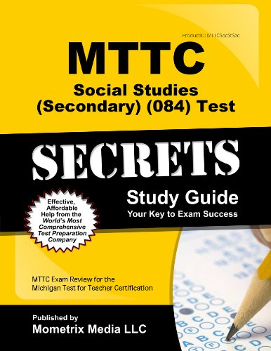 9781627338028: MTTC Social Studies (Secondary) (084) Test Secrets Study Guide: MTTC Exam Review for the Michigan Test for Teacher Certification (Secrets (Mometrix))