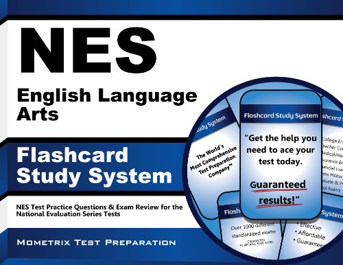 9781627338264: NES English Language Arts Flashcard Study System: NES Test Practice Questions & Exam Review for the National Evaluation Series Tests (Cards)